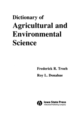 Dictionary of Agricultural and Environmental Science_Part1