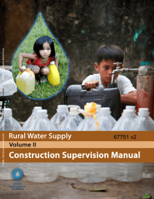 Rural Water Supply Supervision Manual Vol.II