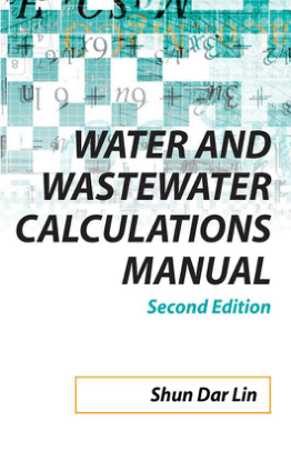 Water and Wastewater Calculation Manual