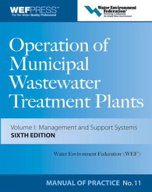 Water Environment Federation Operation of Municipal Wastewater Treatment Plants Manual of Practice Sixth Edition
