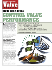 How to Achieve Optimal Control Valve Performance