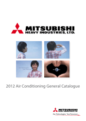 2012 Air Conditioning General Catalogue