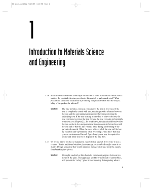 Solution Manual of The Science Engineering of Materials Thomson