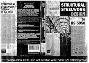 Structural Steel Design BS Code MORRIS Pulm
