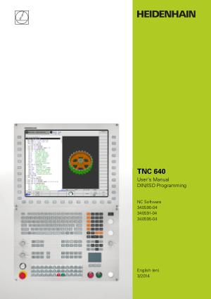 TNC 640 user manual DINISO Programming