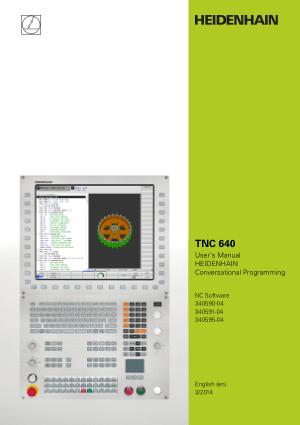 TNC 640 user manual heidenhain conversational programming