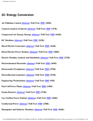 Encyclopedia of Electrical and Electronics Engineering 22.Energy Conversion