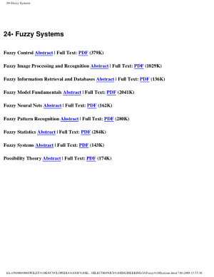 Encyclopedia of Electrical and Electronics Engineering 24.Fuzzy Systems