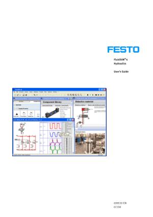 FluidSIM hydraulic user guide