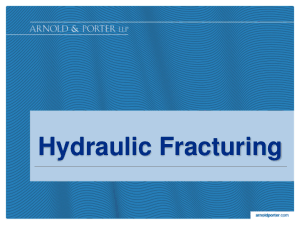 hydraulic fracturing case chart