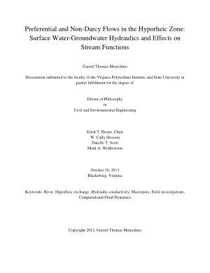 Surface Water-Groundwater Hydraulics and Effects on Stream Functions