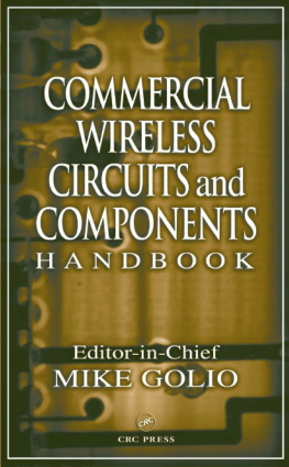 Commercial Wireless Circuits and Components Handbook Mike Golio