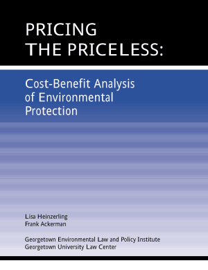 Cost Benefit Analysis of Environmental Protection