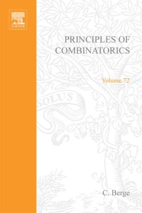 Principles of Combinatorics C. Berge Eds
