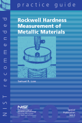 rockwell hardness test measurement of metallic materials