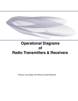 operational diagrams of radio transmitters and receivers