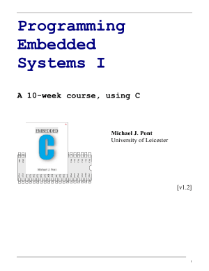 Programming embeded systems