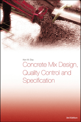 Concrete Mix Design Quality Control and Specification