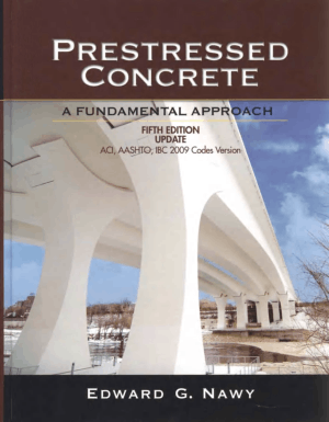 Prestressed Concrete A Fundamental Approach 5th Edition