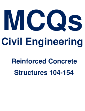 Reinforced Concrete Structures 104-154