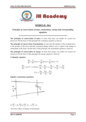Fluid Mechanics Gate exam notes part-2