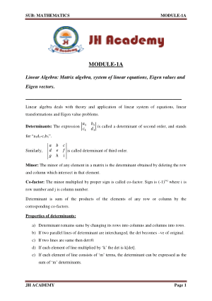 Mathematics Notes and Formulas Gate Exam part-1
