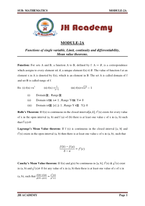 Mathematics Notes and Formulas Gate Exam part-2