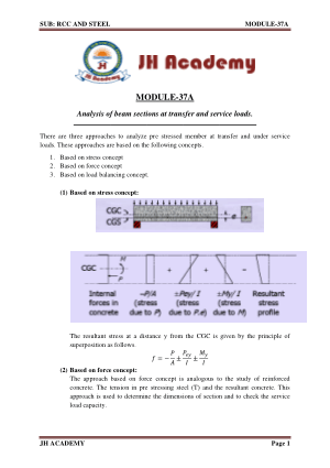 RCC and Steel Gate exam notes Part-5