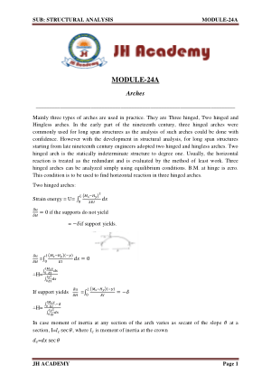 Structural Analysis notes Gate exam part-2