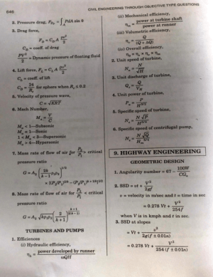 Soil Mechanics And Foundation Engineering Formulas Tech
