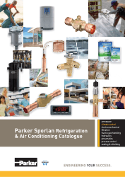Parker Sporlan Refrigeration and Air Conditioning Catalogue