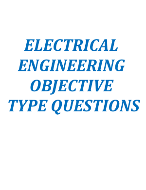 Electrical Engineering Objective Type Questions