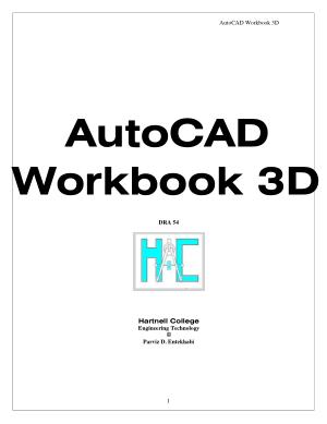 Entekhabi AutoCAD Workbook3D
