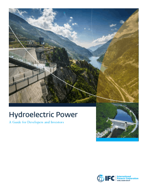 Hydroelectric Power A Guide for Developers and Investors