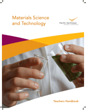 Materials Science and Technology Teachers Handbook