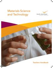 Materials Science and Technology Teachers Handbook