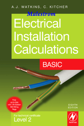 Electrical Installation Calculations Basic 8th Edition