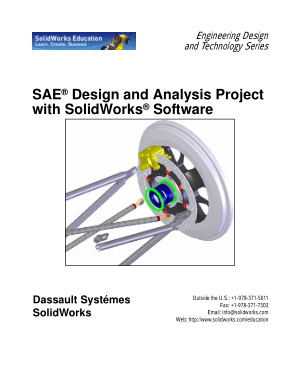 Solidworks SAE Design and Analysis Project with Solisworks Software