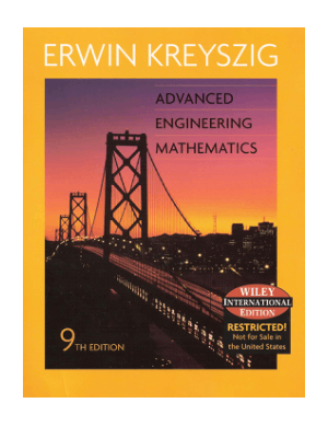 advanced engineering mathematics erwin kreyszig 9th edition