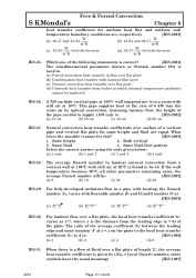 Heat and Mass Transfer By S K Mondal T and Q