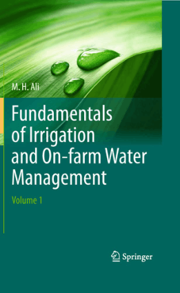 Fundamentals of Irrigation and On farm Water Management
