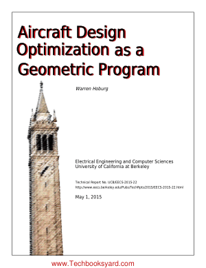 Aircraft Design Optimization as a Geometric Program