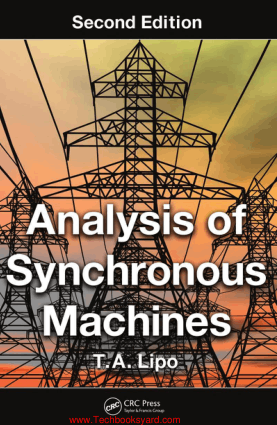 Analysis of Synchronous Machines Second Edition By T A Lipo