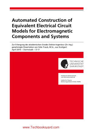 Automated Construction of Equivalent Electrical Circuit Models for Electromagnetic Components and Systems