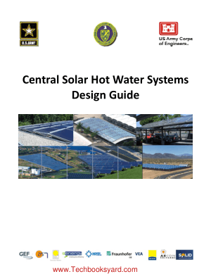 Central Solar Hot Water Systems Design Guide