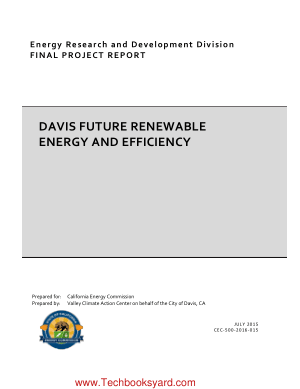 Davis Future Renewable Energy and Efficiency