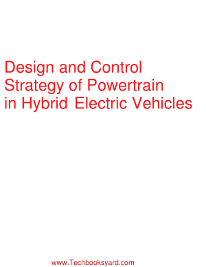 Design and control strategy of powertrain in hybrid electric vehicles by Alexandre Ravey