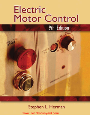 Electric Motor Control 9th Edition By Stephen L. Herman