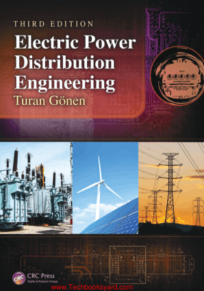 Electric Power Distribution Engineering 3rd Edition By Turan Gonen