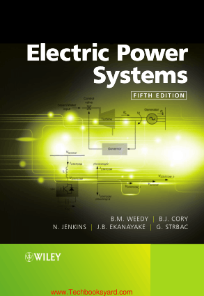Electric Power Systems Fifth Edition By B M Weedy